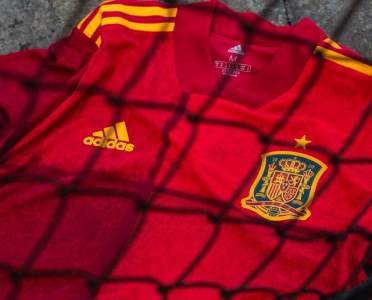 Spain Launch Eye-Catching New adidas Home Kit Ahead of Euro 2020