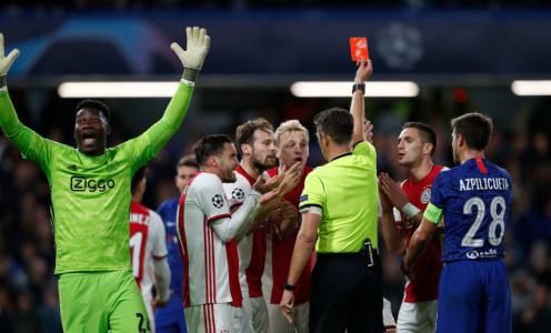 UEFA Admit Refereeing 'Blunders' in Chelsea's 4-4 Champions League Draw With Ajax