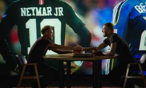 Neymar Shakes Hands With David Beckham on Inter Miami Deal…..But He's Not Going Yet