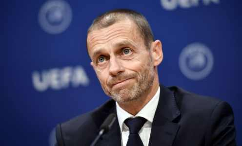 UEFA President Admits Current Premier League Season May Be Written Off as Null & Void