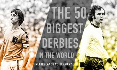 Netherlands vs Germany: A Rivalry Contested by Some of the World's Greatest Players