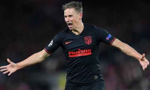 Marcos Llorente's Shirt From Liverpool Victory Auctioned Off for Coronavirus Charity