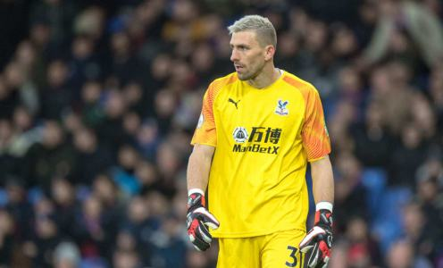 Valencia Eyeing Crystal Palace Stopper Vicente Guaita With Spaniard Keen on Move