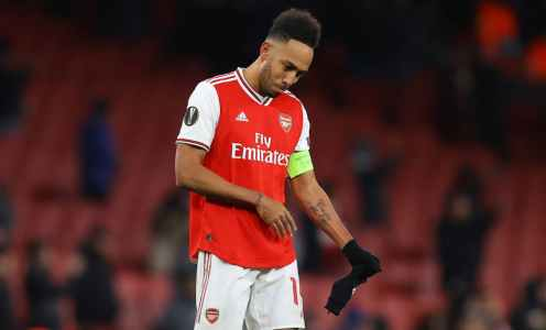 Pierre-Emerick Aubameyang 'Hasn't Been Offered New Deal' by Arsenal Amid Exit Speculation