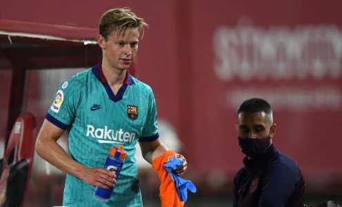 Frenkie de Jong to Miss Crucial Run-in Games With Calf Injury