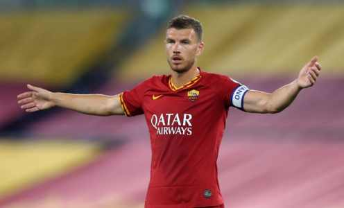 Juventus Line Up Summer Move for Edin Dzeko as Replacement for Gonzalo Higuain