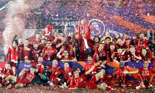 The Best Images From Liverpool's Premier League Title Celebrations