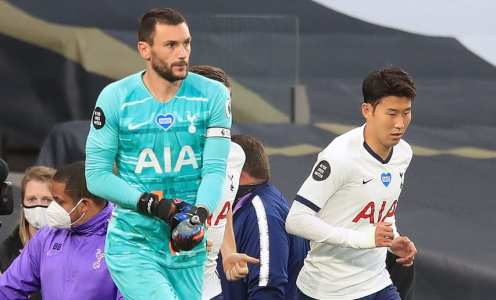 Twitter Reacts to Hugo Lloris & Son Heung-Min Bust-Up During Everton Clash