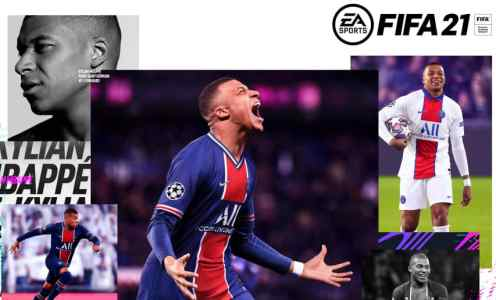 Kylian Mbappe Unveiled as FIFA 21 Cover Star