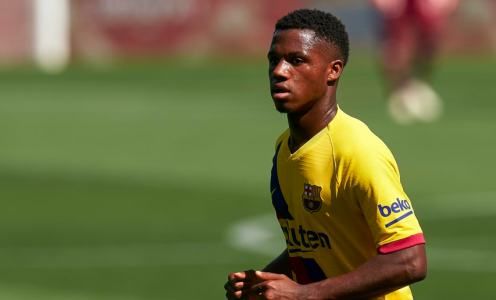 Manchester United Interested in Ansu Fati But Barcelona Determined Not to Sell
