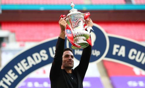 Mikel Arteta Says He Wants to Build Team Around Pierre-Emerick Aubameyang After FA Cup Win