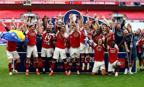 Arsenal Stars React to FA Cup Win After Chelsea Victory