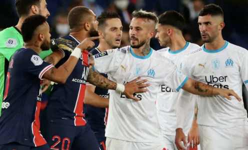 Neymar Makes Racism Accusation After PSG's Loss to Marseille Ends in Brawl