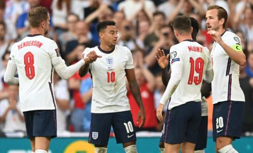 England rise to third in FIFA men's world rankings