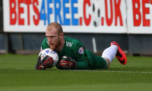 Glentoran goalkeeper sent off after assaulting teammate in moment of madness