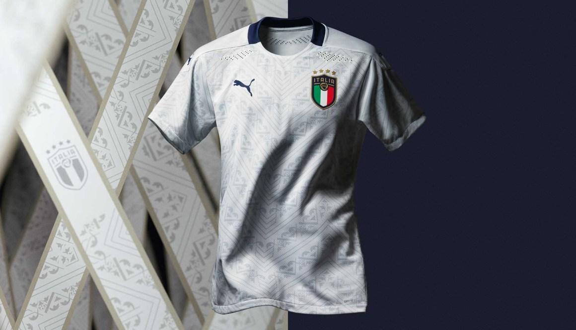 Kết quả hình ảnh cho italia home kit euro 2020