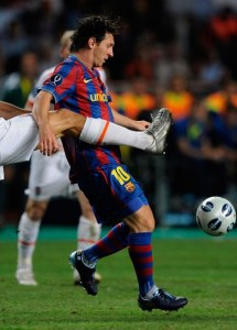 Messi in New F50i