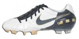 Nike t90 Laser III White outside