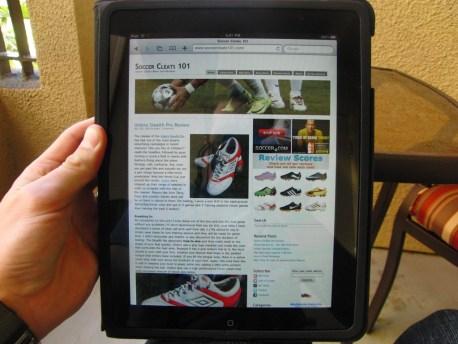 iPad SoccerCleats101