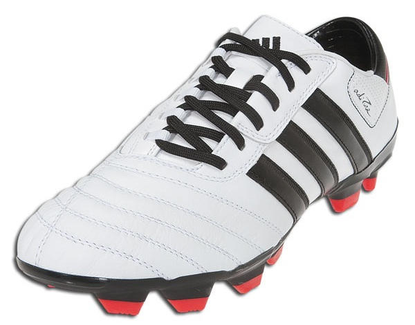 Adidas adiPure III in White-Black Radiant Red  ba99926a5