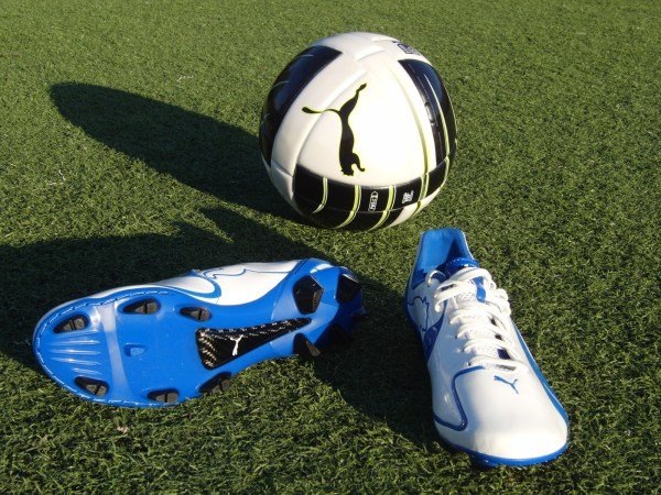 Puma Cleats and ball