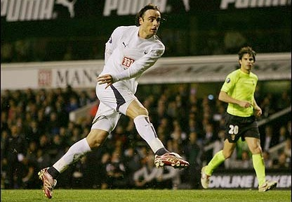 Berbatov at Spurs