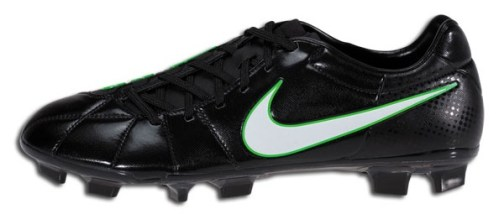 Black Green Nike T90 Laser III
