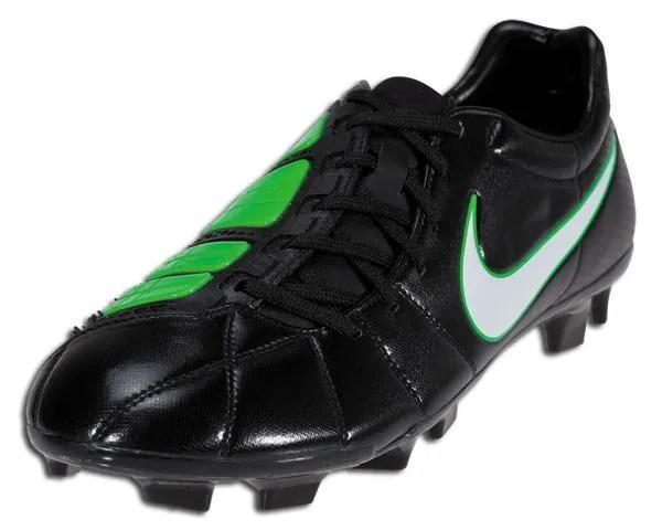 f0752ed6f703 Nike T90 Laser III in Black/White/Electric Green   Soccer Cleats 101