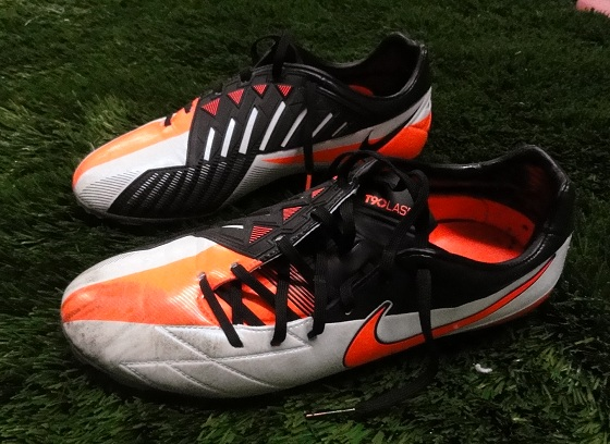 Nike T90 Laser IV after play