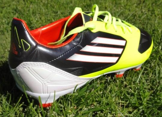 Adidas F30 heel