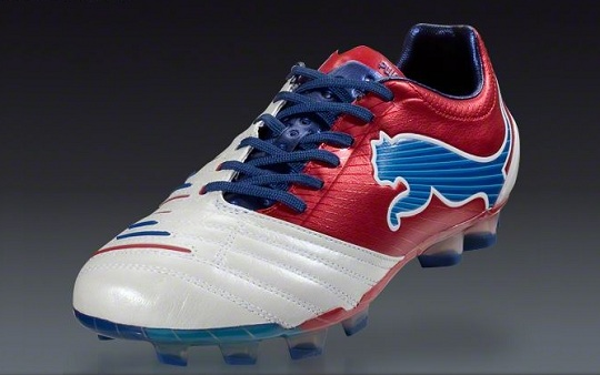 Puma PowerCat White Blue Red