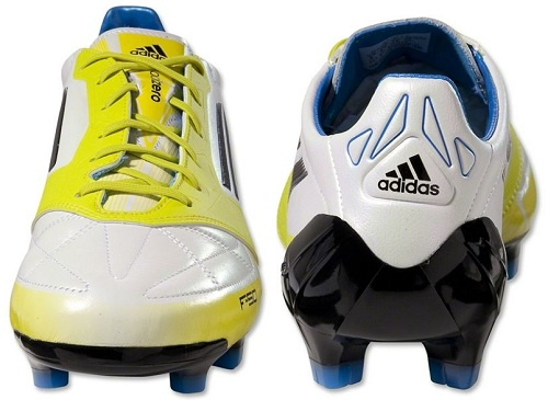 sale retailer 27424 f912b ... Adidas F50 adiZero in Running WhiteLab Lime Released Soccer Cleats 101  ...