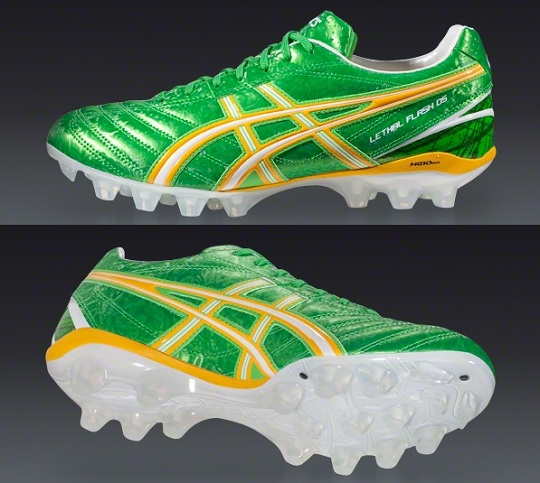 Neon Green Asics Flash DS