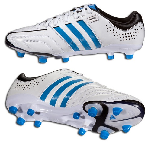 White Bright Blue adiPure 11Pro