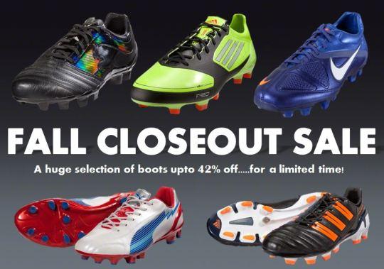 Closeout Sale