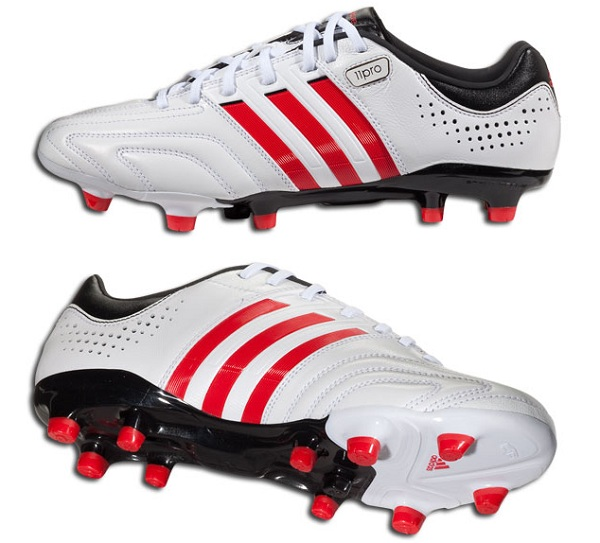 White and Scarlet adiPure 11Pro