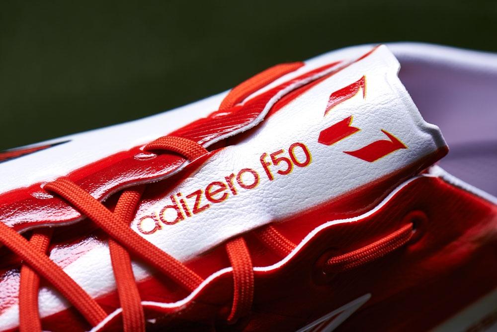 Adidas Adizero F50 Messi Blanco Negro Rojo IRetT1