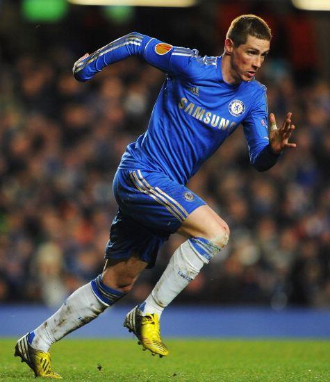 Torres Wears Adidas Predator LZ