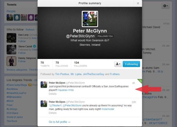 Mcglynn Twitter