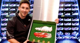 Messi with adiZero
