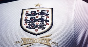 England Home Jersey Crest featured