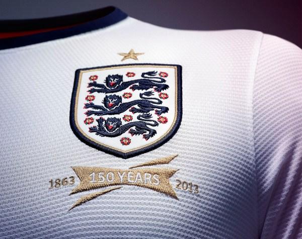 England Home Jersey Crest