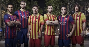 FC Barcelona Home and Away Jerseys
