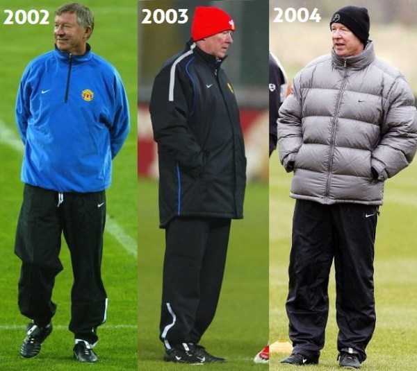 Sir Alex 2002 to 2004