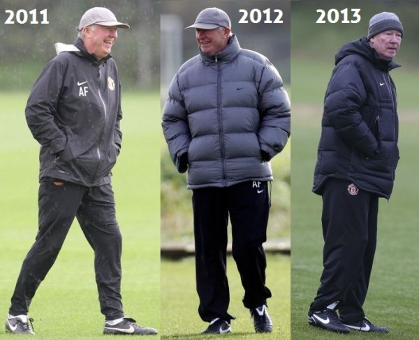Sir Alex 2011 to 2013