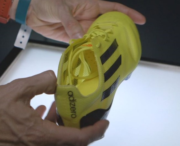Yellow F50 adiZero prototype