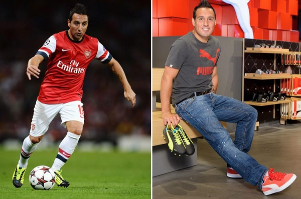 Cazorla in Puma evoSPEED