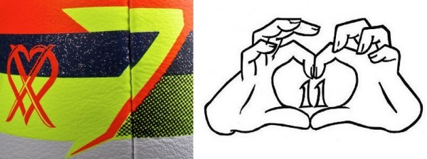 Ronaldo and Bale Logos