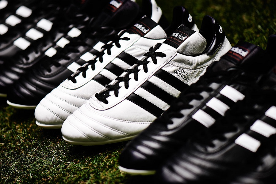 9e3485c2a White Copa Mundial via Soccer Cleats 101 The classic returns. Probably the  most iconic football boot of all time, the Adidas Copa Mundial gets a  brief, ...