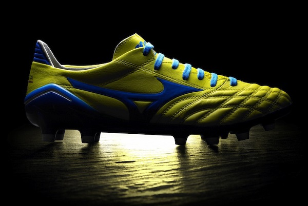 Mizuno Morelia Yellow Blue